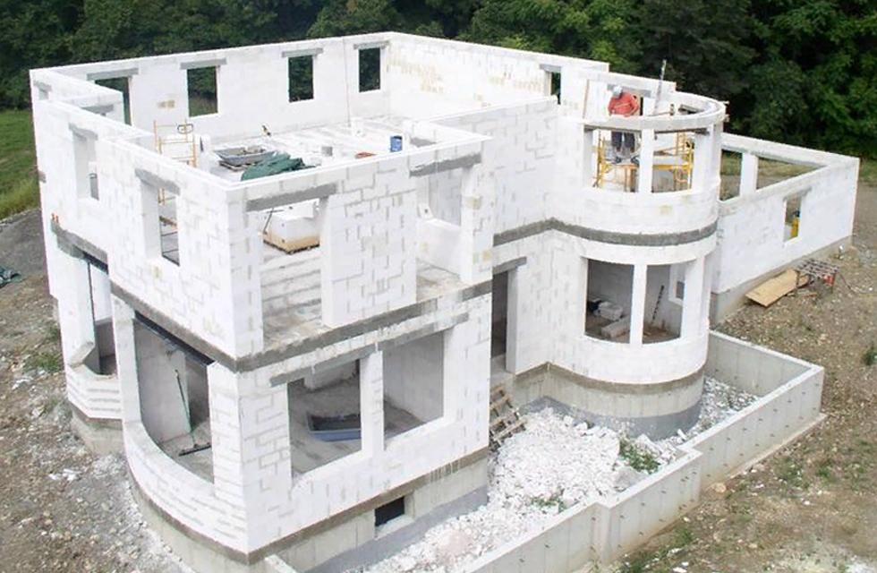 строительство экодомов газоблоки