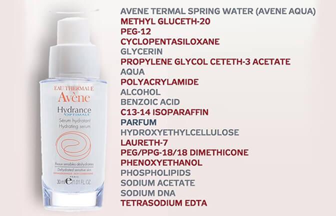 микропластик в косметике Avene
