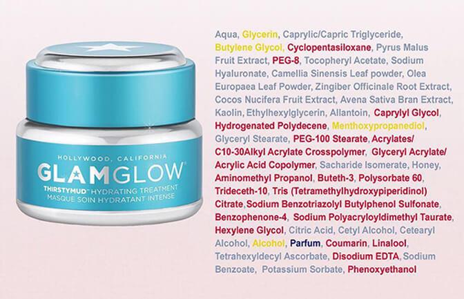 микропластик в косметике glamglow