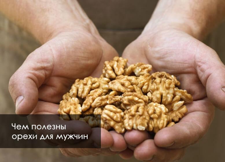 чем полезны орехи для мужчин