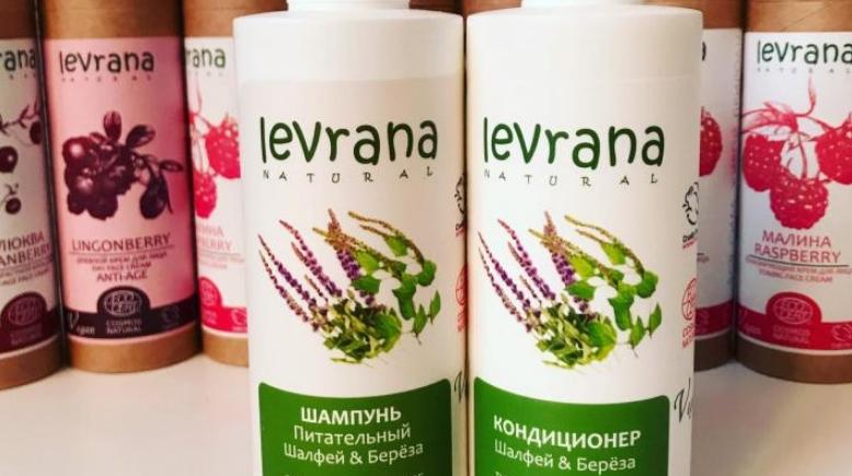 натуральные шампуни Леврана